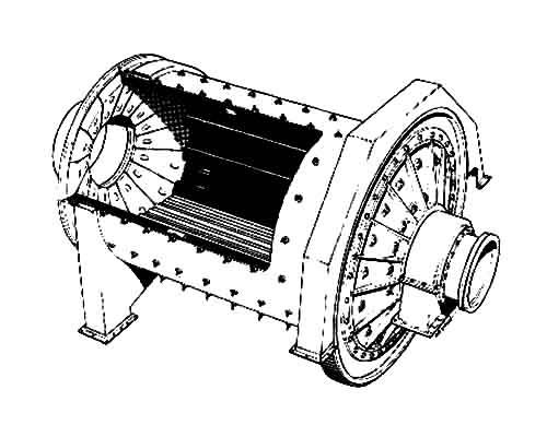 干式棒磨机工作原理
